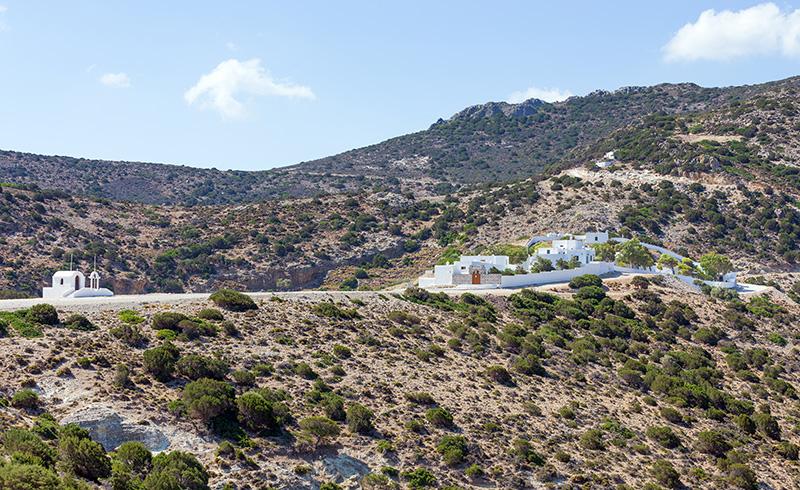 Agios,Ioannis,Siderianos,Monastery,,Milos,Island,,Greece